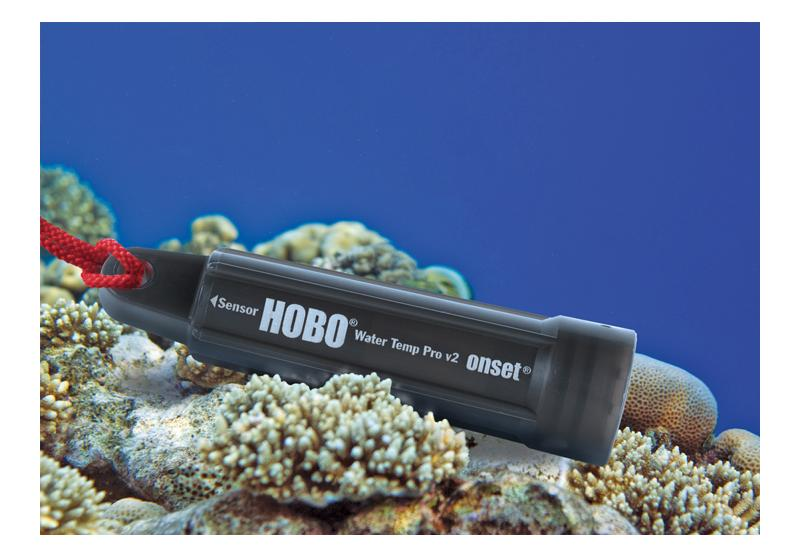 HOBO Water Temperature Pro v2 Data Logger U22-001 Under water