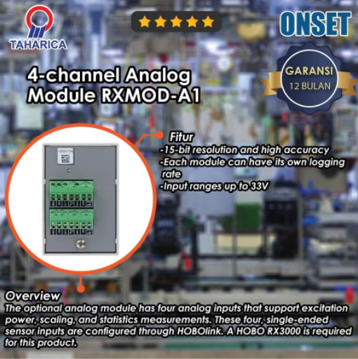 HOBO-Data-Logger-RX3000-4-channel-Analog-Module-RXMOD-A1